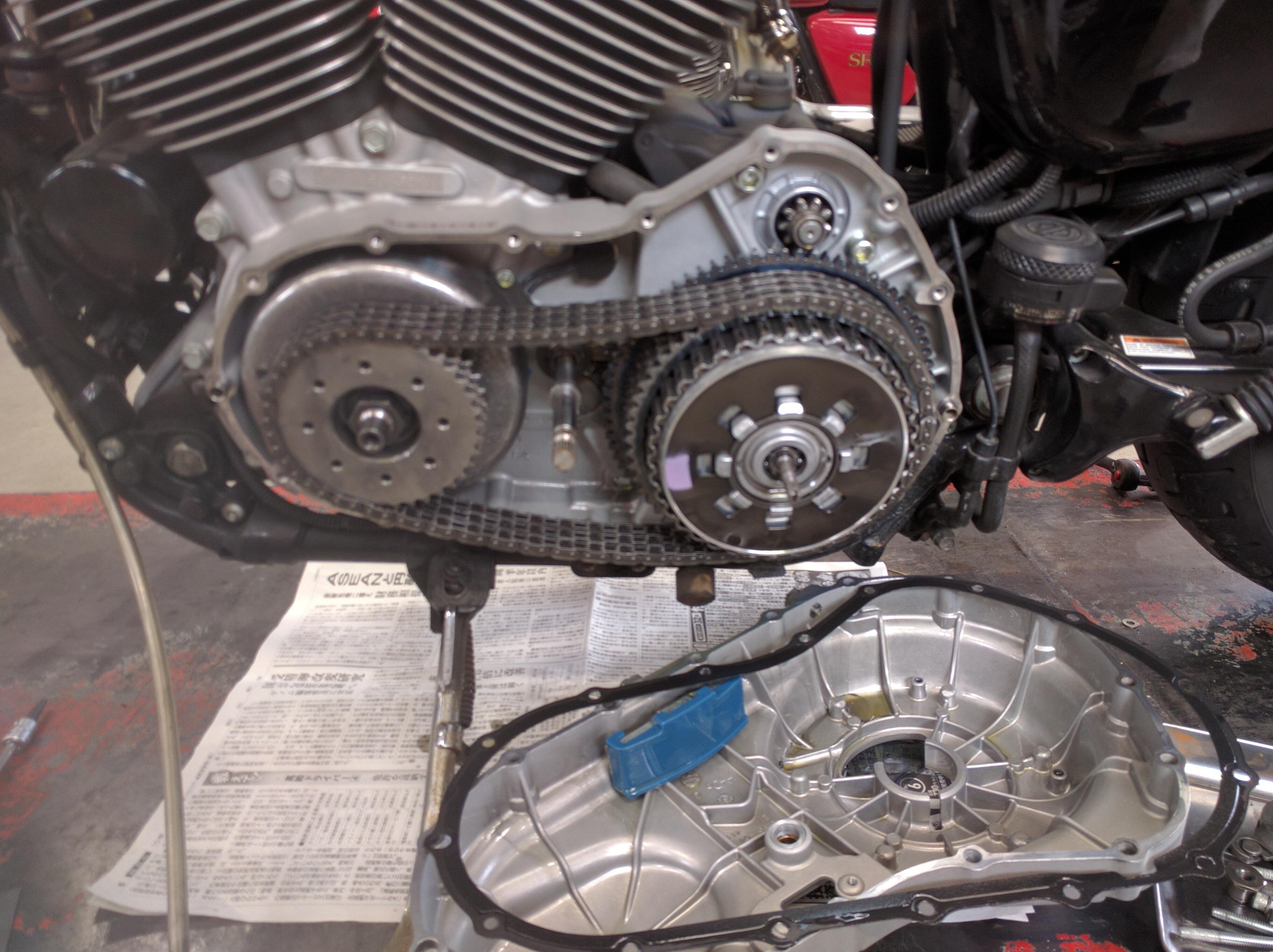 バイク セル モーター